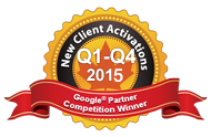 Google Partners Competition Winner 2015 Q1-Q2 Most new activations