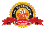 Google Partners Competition Winner 2014 Q1 Most new activations